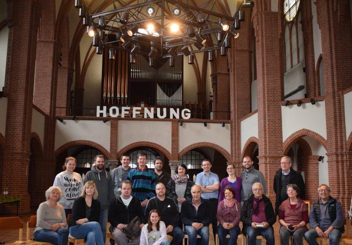 Baufreizeit mit Holzgerlingern April 2017