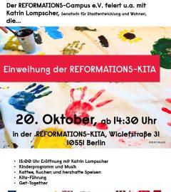 Einweihungsfeier der Reformations-Kita
