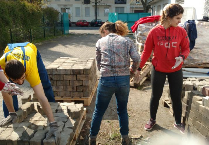Jugendworkcamp von Seehaus und IJGD April/Mai 2017