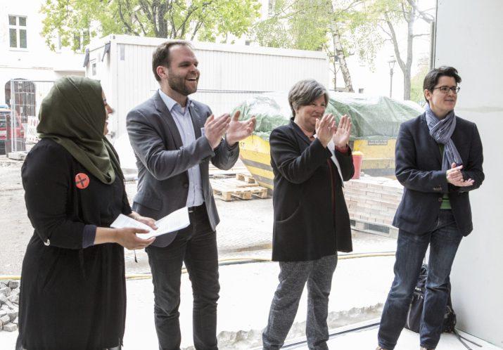 Einweihung des Jugendtheater-Erweiterungsbaus Mai 2017